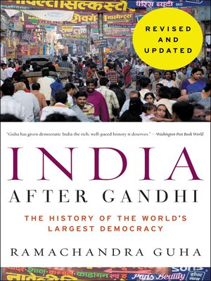 cover image of India After Gandhi Revised and Updated Edition